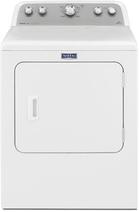 "Maytag MDX655DW 29"" Bravos Dryer with 7.0 Cu. Ft. Capacity, Reversible Side Swing Door, HE Sensor Dry, Wrinkle Prevent 150, and Drum Light"