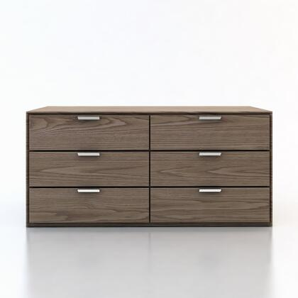 Modloft MD321DRWAL Thompson Series Wood Dresser