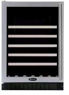 "AGA APRO61WCMBLKL 23.88"" Built-In Wine Cooler, in Black"