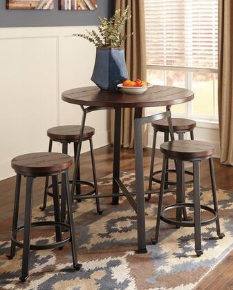 Milo Italia DR140BT4BS24 Kym Dining Room Sets