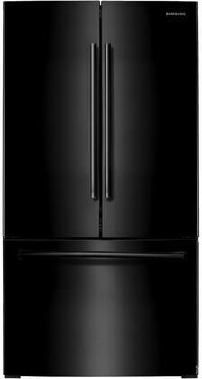 """Samsung RF261BEAE 36"""" Energy Star Rated French Door Refrigerator with 25.5 cu. ft. Capacity, Internal Filtered Water, Twin Cooling Plus, LED Lighting, Power Freeze & Power Cool in"""