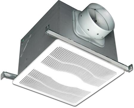 Air King ExSH Exhaust Fan with x CFM, 23 Gauge Galvanized Steel Housing, Polymeric Grill, and Humidity Sensor, in White