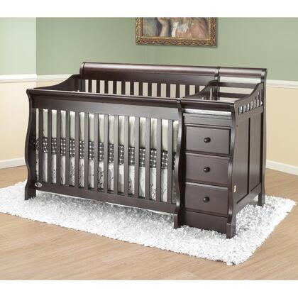 Orbelle 315X Michelle Crib'n'Bed Convertible Crib in
