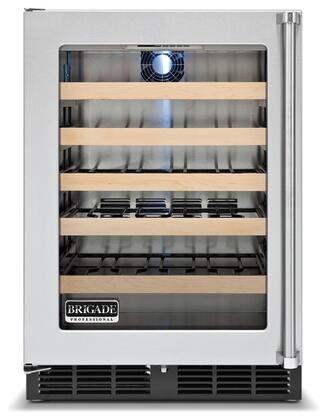 "Viking VWCI1240GLSS 23.875"" Built-In Wine Cooler, in Stainless Steel"
