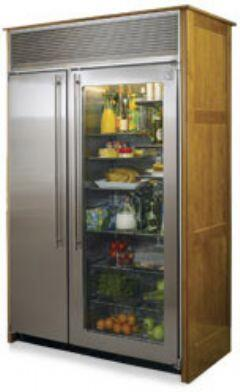 Northland 36SSWGX  Counter Depth Side by Side Refrigerator with 23.0 cu. ft. Capacity in Stainless Steel with Glass Door