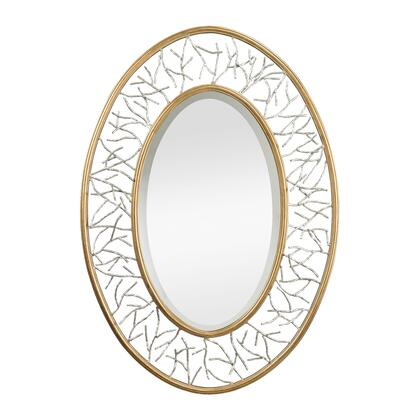 Sterling 11498 Canonford Series Oval Portrait Wall Mirror