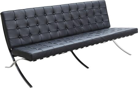 Fine Mod Imports FMI4001S Pavilion Collection Leather Sofa: