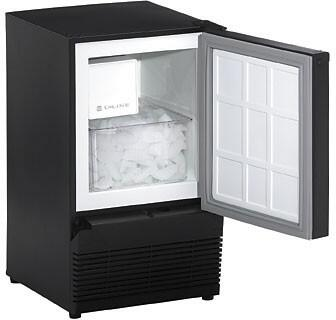U-Line BI95B  Built-In Ice Maker with 23 Daily Ice Production, 12 Ice Storage, in Black