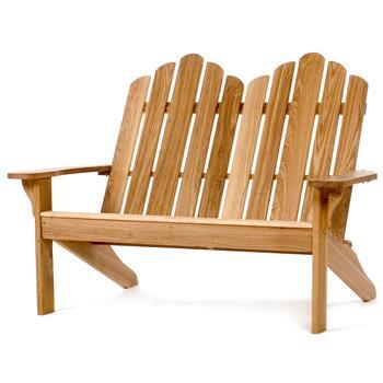 All Things Cedar OV48  Patio Benches