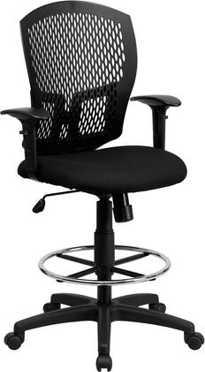 "Flash Furniture WL3958SYGBKADGG 25.5"" Contemporary Office Chair"