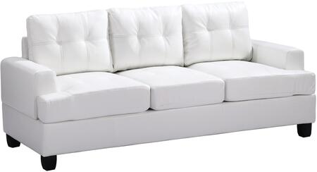 Glory Furniture G587AS  Stationary Bycast Leather Sofa