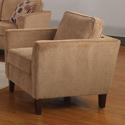 Coaster 504053 Marya Series Fabric with Wood Frame in Caramel