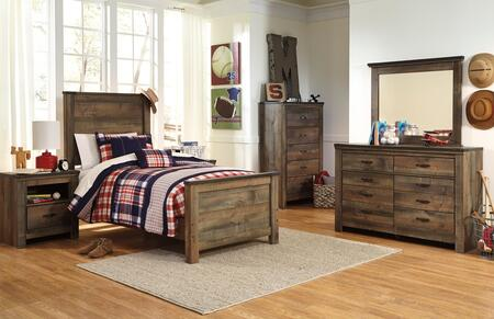 Signature Design by Ashley Trinell Bedroom Set B446TPBDM2NC