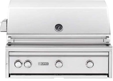 "Lynx L36ASRLP Built-In 36"" Liquid Propane Grill, in Stainless Steel"