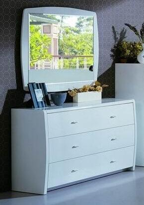 VIG Furniture PALERMODRWHT Palermo Series Wood Dresser