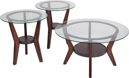 Fantell 3 Piece Occasional Table Set