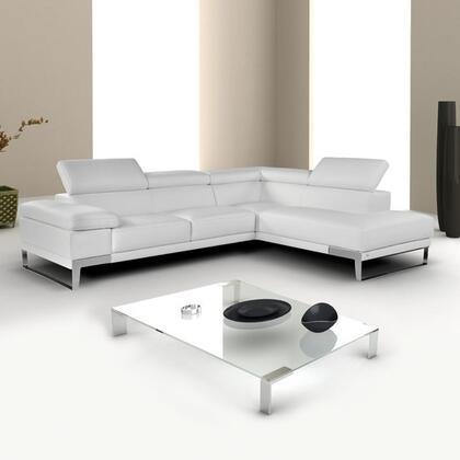 Nicoletti Domus Leather LF Chaise 17920 LHFC