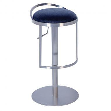 Chintaly 0571-AS- Adjustable Height Swivel Bar Stool: