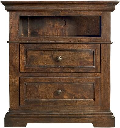 Home Trends & Design ZWCR2823 Carmela Series Rectangular Wood Night Stand