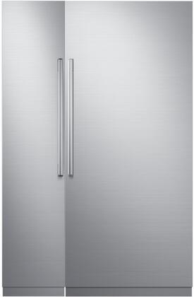 Dacor 772324 Modernist Side-By-Side Refrigerators