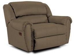 Lane Furniture 21414449932 Summerlin Series Transitional Fabric Wood Frame  Recliners