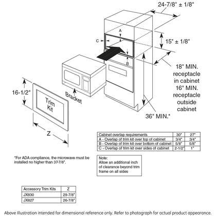 Monogram Zem115sjss 24 Inch Stainless Steel Countertop