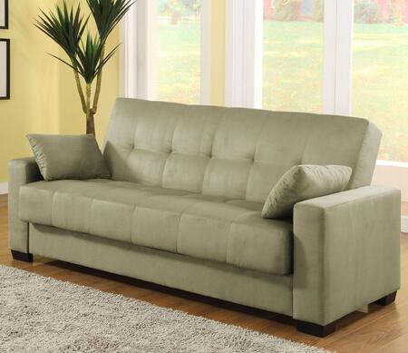 LifeStyle Solutions CANPAOVSET Casual Convertibles Series Loveseat Sleeper Microfiber Sofa