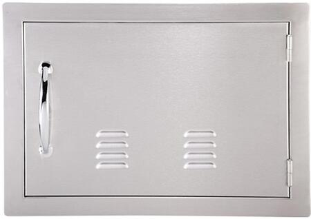 Sunstone A-DH Classic Series Flush Style Horizontal Single Access Door with Vent in Stainless Steel