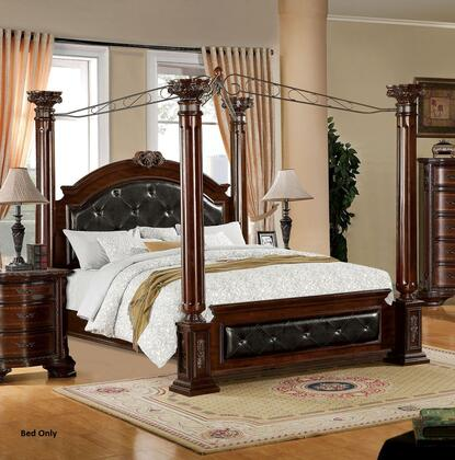 Furniture of America CM7271EKBED Mandalay Series  King Size Bed