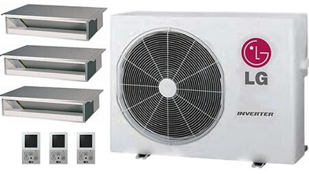 LG 704103 Triple-Zone Mini Split Air Conditioners