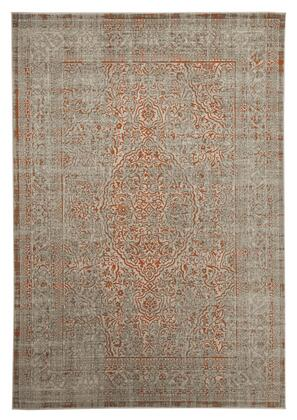 Signature Design by Ashley Angelito R40194X X Size Rug with Machine Made Persian Design, Polypropylene Material and Backed with Latex and Jute in Seaspray Color