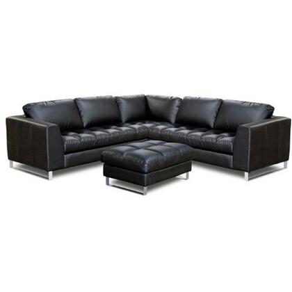 Diamond Sofa VALENTINO3PCARMSECTOTTOC  Sofa