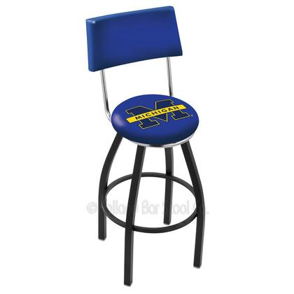 Holland Bar Stool L8B430MICHUN Residential Vinyl Upholstered Bar Stool