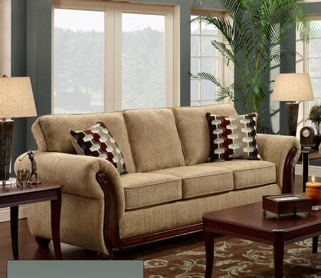 Chelsea Home Furniture 478100SRH Courtney Series Stationary Fabric Sofa