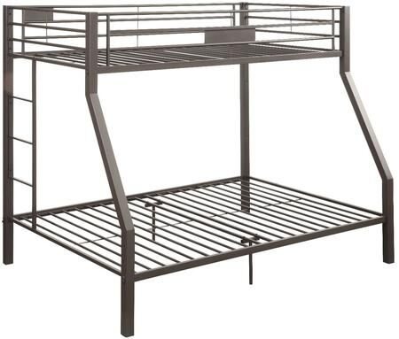 Acme Furniture 37510 Limbra Series  Twin over Full Size Bunk Bed