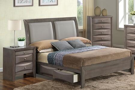 Glory Furniture G1505DDFSB2CHN G1505 Full Bedroom Sets