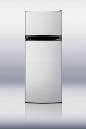 "Summit FF1374SSIM 24""  Refrigerator with 11.9 cu. ft. Capacity in Stainless Steel"