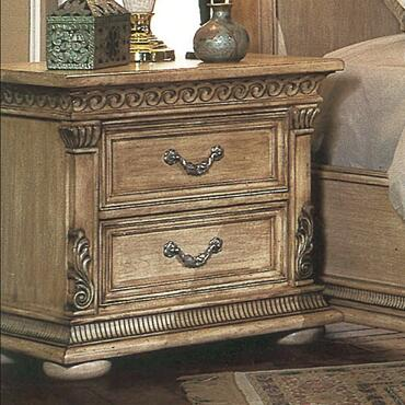 Yuan Tai 7503N Florence Series  Wood Night Stand