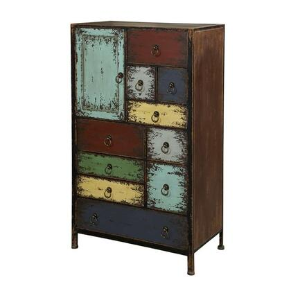 Powell 994331 Parcel Series Wood Chest