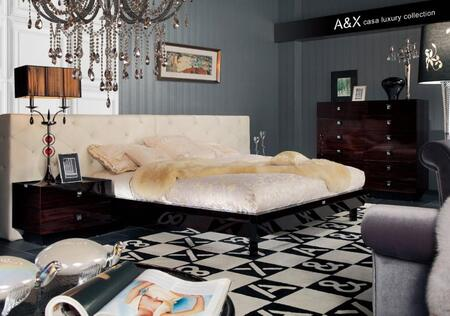 VIG Furniture AW220180CK  California King Size Platform Bed