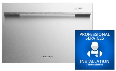Fisher Paykel DD24SDFX7INSTALL Built-In Dishwashers