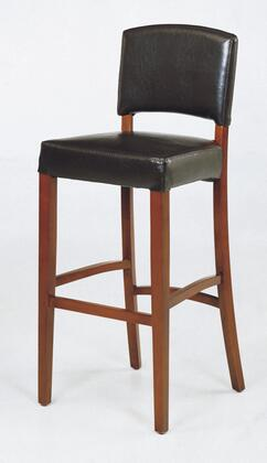Armen Living LCSNBABLBL30 Residential Leather Upholstered Bar Stool
