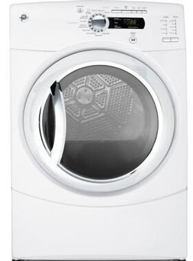 GE GFDS350ELWW Electric Dryer