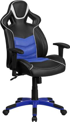 """Flash Furniture Monterey Collection CP-B331A01-XX-GG 43""""-47"""" High Back Vinyl Executive Swivel Office Chair with Inner-Coil Spring Comfort Seat and Built-In Lumbar Support in"""
