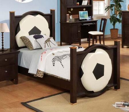 Acme Furniture 12000F All Star Series  Full Size Panel Bed