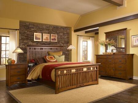 Broyhill ARTISANRIDGEBEDCKSET Artisan Ridge Bedroom Sets