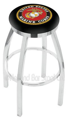 Holland Bar Stool L8C2C25MARINE Residential Vinyl Upholstered Bar Stool