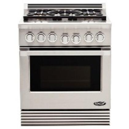 DCS RGUC305L  Freestanding Range with Sealed Burner Cooktop, 4.6 cu. ft. Primary Oven Capacity,