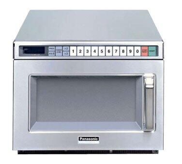 Panasonic NE1258R Countertop Microwave, in Stainless Steel