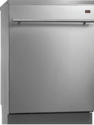 "Asko D5638XLHS 24"" Built-In Semi-Integrated Dishwasher"
